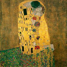 Der Kuss / Gustav Klimt