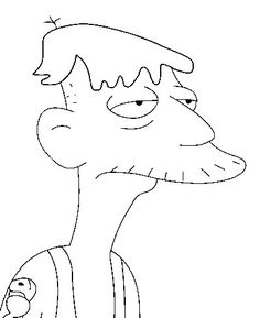 Simpsons Drawings, Disney Drawings, Homer Simpson Drawing, Coloring Pages For Kids, Coloring Books, The Simpsons, Pencil Drawings, Disney Characters, Fictional Characters