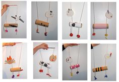 String puppets for children to make
