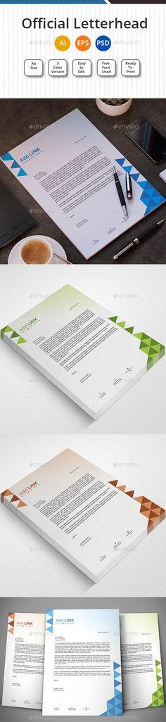 Retropolis Creative Letterhead  Creative Letterhead And Item