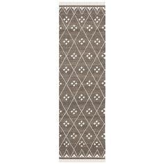 Safavieh Hand-woven Natural Kilim Brown/ Ivory Wool Rug (2'3 x 10')