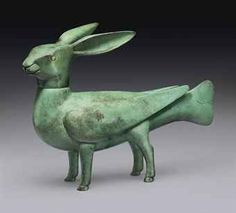 FRANCOIS-XAVIER LALANNE (1927-2008) | LAPIN A VENT, DESIGNED 1969 ... Mixed Media Sculpture, Abstract Sculpture, Bronze Sculpture, Sculpture Art, Elements Of Art, Design Elements, Statues, Francois Xavier, Rabbit Art