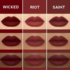 Which is your fave deep red? Shop Velvetines on limecrime.com