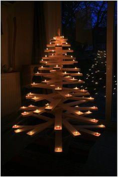 Paletes para a árvore de Natal – Ideias Diferentes