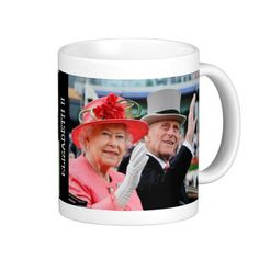 Queen Elizabeth of England Mugs  -  More Fun Gifts at - http://www.zazzle.com/cdandc  #queen #elizabeth #Royal #royalfamily #british