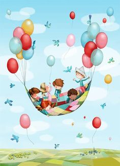 Writing prompt: How did a simple picnic end up in the sky?