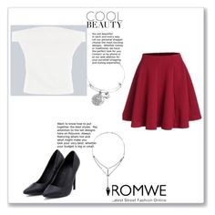 """ROMWE - 4/3"" by thefashion007 ❤ liked on Polyvore"