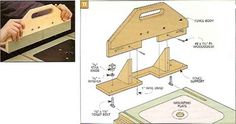 This compact router table has a large top with wings that fold away making it compact and easy to store The multipurpose fence doubles as a sturdy handle