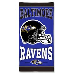 966a9c52b Baltimore Ravens Towel 30x60 Beach Style