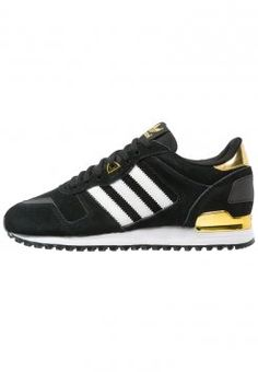 adidas Originals - ZX 700 - Sneakers - core black/white/gold