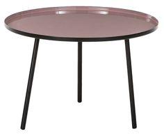 """Stolik pomocniczy """"Yuma Pink"""", Ø 60, wys. 40 cm"""