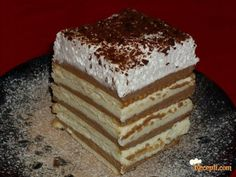 KEKS TORTA SA KREMOM OD PUDINGA - BEZ PEČENJA
