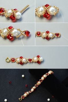 Like the glass and pearl beads bracelet?Check the tutorial from LC.Pandahall.com soon.