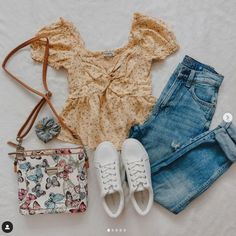 Retro Outfits, New Outfits, Stylish Outfits, Cute Outfits With Jeans, Cute Jeans, Instagram Outfits, Instagram Fashion, Spring Outfits Women, Winter Outfits