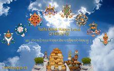 Tashi Delek Happy Losar 2145/2018 from Riwotsegya Throma Buddhist Institute