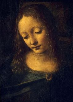 Leonardo da Vinci, Virgin of the Rocks (detail) | Louvre