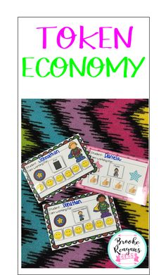 Reward your students for positive behavior with these token economy boards! You students will be motivated to work and show good behavior!
