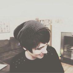 •Dan in a beanie•