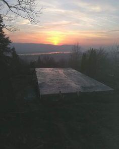 """71 kedvelés, 1 hozzászólás – Hegyi Kabin Zebegény (@hegyikabin) Instagram-hozzászólása: """"Nap lement, alap elkészült..jó kilátások👀#hegyikabin #zebegény #dunakanyar #börzsöny #cabin #sunset…"""" Nap, Celestial, Sunset, Outdoor, Instagram, Outdoors, Sunsets, Outdoor Games, The Great Outdoors"""