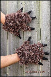 Amigurumi Freely: Beast Gloves Dress Up