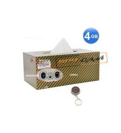 Car Tissue Paper Box Camera