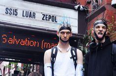 Luar Zepol's SS15 Backstage