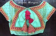 Here is the back patter of the blouse. Design inspired from our rich Indian architecture. 01 September 2017