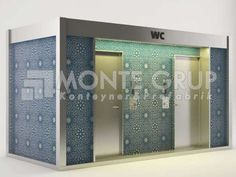 Wc & Duş Konteyneri