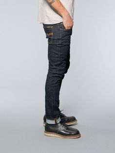 Nudie Jeans Tight Long John Twill Rinsed - Nudie Jeans - Denim Heads - Only The Best