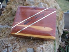 Dear Diary Wooden Box Sweet / Great Gift by Daysgonebytreasures