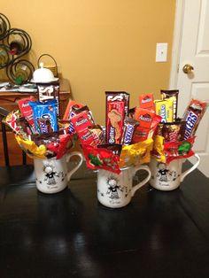 Nurses week candy bouquet