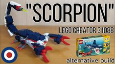 Lego Creator, The Creator, Scorpion, Nerf, Youtube, Scorpio