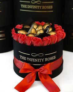 "THE INFINITY ROSES ROMANIA™ on Instagram: ""➖250RON➖"" Infinity, Roses, Birthday Cake, Box, Desserts, Instagram, Tailgate Desserts, Infinite, Snare Drum"