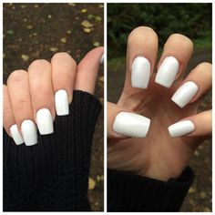 white square nails  google search  acrylics  pinterest