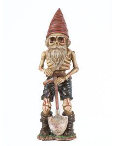 Grave Digger Skeleton Gnome