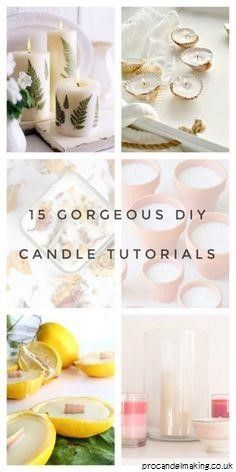 """""""How to Become a Master Candle Maker For Fun or Profit..."""" Soon, you'll finally learn how to make wonderful smelling candles that put those expensive candles sold in stores to shame. It's easy, fun and very rewarding! The best making candles Showing My making candles #making candles #craft #DIY #cpz Best Candles, Soy Candles, Scented Candles, Candle Jars, Candle Holders, Diy Candles Tutorial, Expensive Candles, Soy Candle Making, Making Candles"""