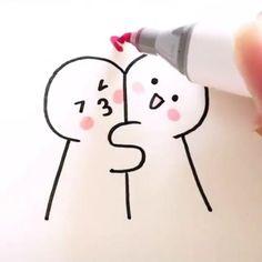 Easy Doodles Drawings, Cute Easy Drawings, Mini Drawings, Cute Little Drawings, Art Drawings Sketches Simple, Marker Drawings, Cute Easy Doodles, Free Doodles, Pencil Art Drawings