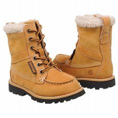 Timberland Lamprey 7 Eye Tod/Pre Boots (Wheat) - Kids' Boots - 12.0 M