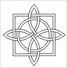 Stencils - BS056 - Celtic Interlocking Square & Star