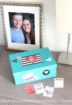Decorative Hint Box: fun craft for those times when you just don't know what your spouse wants.