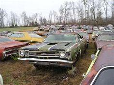 junk yard find Look at All Those Mopars Big Bucks GTX WOW!!