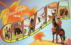Greetings from Canada - Large Letter Postcard | Flickr - Photo Sharing!