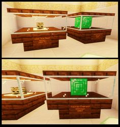 My museum display case design. What do you guys think? Lego Minecraft, Minecraft Museum, Minecraft Plans, Minecraft Construction, Amazing Minecraft, Minecraft Tutorial, Minecraft Blueprints, Minecraft Crafts, Minecraft Party