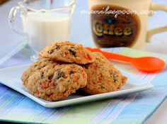 Manila Spoon: Scrumptious Carrot Cake Cookies may add applesauce next time or Greek yogurt
