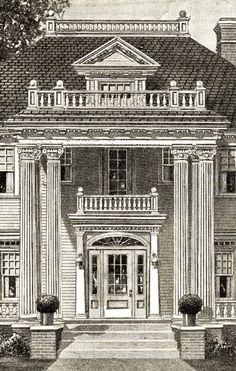 Beautiful columns and porches on pinterest for 2 story porch columns