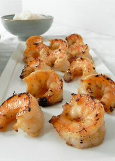 Oh My Gosh! This Grilled Coconut Honey Lime Shrimp is fantastic