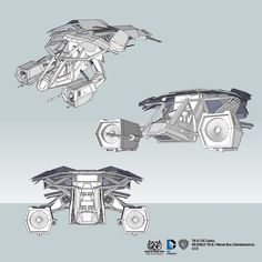 """3D Blueprint For Batman's private aircraft,  """"And yes Mr. Wayne, it does come in black.""""    THE BAT"""