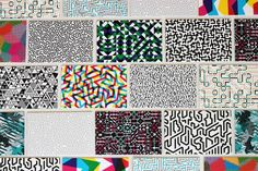 Business card patterns