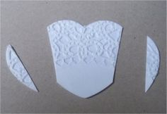 Paper, Paws, etc.: Doily Dress Folds Tutorial