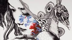 Humanity and nature become one in these beautiful metamorphic illustrations